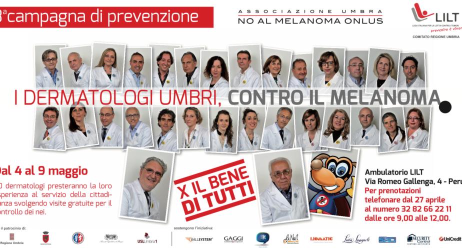 X IL BENE DI TUTTI <br> 3° campagna di prevenzione